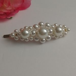 Faux Pearl Hairpin